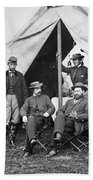 Antietam: Officials, 1862 Beach Towel