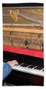 Antique Playtone Piano Beach Towel