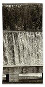 Antique Polish Waterfall Beach Towel