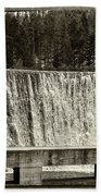Antique Polish Waterfall Beach Sheet