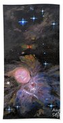 Aphrodite In Orion's Nebula Beach Towel