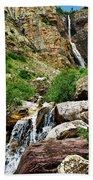 Apikuni Falls Beach Towel