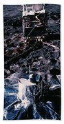 Apollo 14 Lunar Experiments Beach Towel