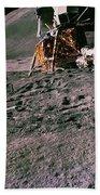 Apollo 15 Lunar Module Beach Towel