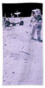 Apollo Mission 16 Beach Towel