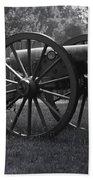 Appomattox Cannon Beach Towel by Teresa Mucha