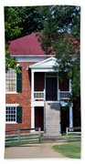 Appomattox County Court House 1 Beach Towel by Teresa Mucha