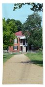 Appomattox County Court House 2 Beach Towel by Teresa Mucha