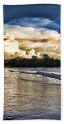 Approaching Storm Clouds Beach Towel