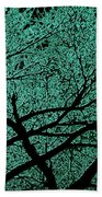 Aqua Scrub Beach Towel