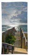 Aqua Seas Beach Towel