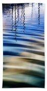 Aquatic Reflections Beach Towel
