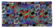 Arboretum Colorful Beach Towel