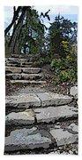 Arboretum Stairway Beach Towel by Tim Allen
