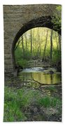 Arch In Spring 3 Beach Towel