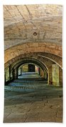 Arched Walkway In Provence Beach Towel