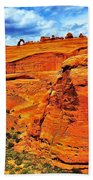 Arches Canyon Beach Towel