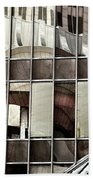Architectural Reflections Beach Towel