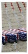 Arlington West Beach Towel