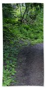 Around Another Bend In The Trail On Mt Spokane Beach Towel