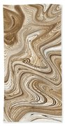 Art Abstract Beach Towel