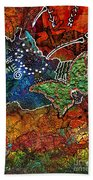 Art Therapy Beach Towel