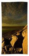 Artic Landscape Beach Towel