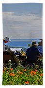 Artists At Work Beach Towel