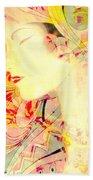 Asian Tropic Beach Towel