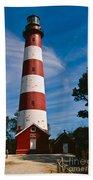 Assateague Lighthouse Beach Towel