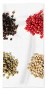 Assorted Peppercorns Beach Towel
