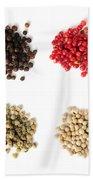 Assorted Peppercorns Beach Towel by Elena Elisseeva