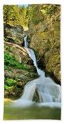 Aster Falls Beach Towel