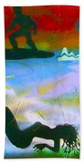 At Sea Gold Beach Towel