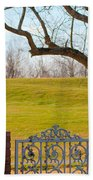 At The Levee Beach Towel