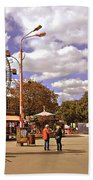At The Prater - Vienna Beach Towel