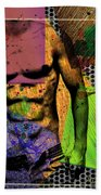 At The Right Mood Beach Towel