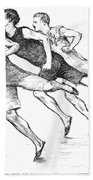 Athletics: Track, 1890 Beach Towel