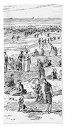 Atlantic City, 1890 Beach Towel