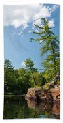 Ausable Chasm 1618 Beach Towel