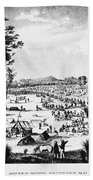 Australia: Gold Rush, 1851 Beach Towel