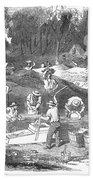 Australian Gold Rush, 1851 Beach Towel