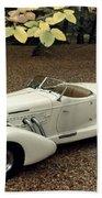 Auto: Auburn, 1935 Beach Towel