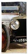 Auto: Hispano-suiza, 1912 Beach Towel