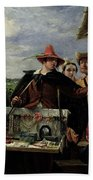 Autolycus Scene From 'a Winter's Tale' Beach Towel