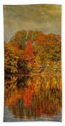 Autumn - Landscape - Tamaques Park - Autumn In Westfield Nj  Beach Towel