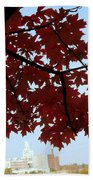 Autumn Afternoon In Peterborough Beach Towel
