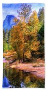 Autumn At Yosemite Beach Towel