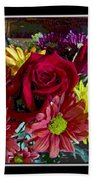 Autumn Boquet Beach Towel
