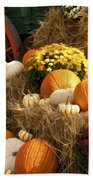 Autumn Bounty Beach Towel by Kathy Clark
